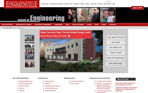 SIUE School of Engineering