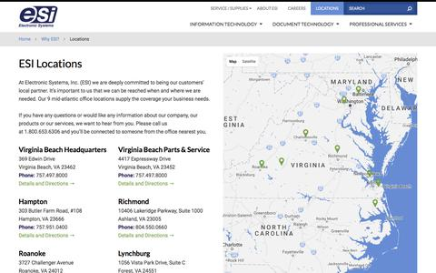 Manufacturing Locations Pages | Website Inspiration and