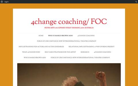Screenshot of Testimonials Page 4change.com.au - Testimonials | 4change coaching/ FOC - captured Feb. 23, 2016