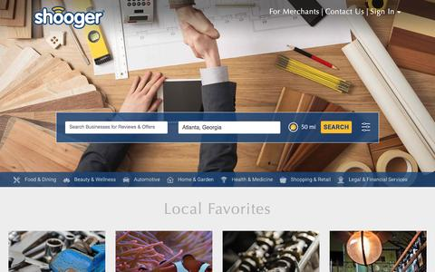 Shooger Home Page
