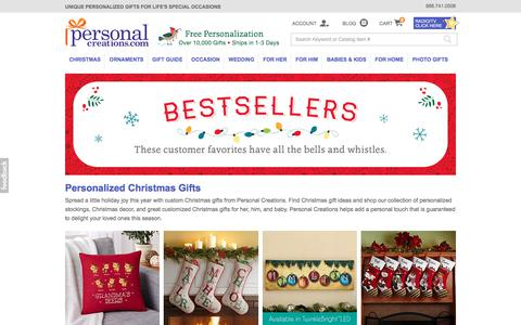Personalized Christmas Gifts at Personal Creations