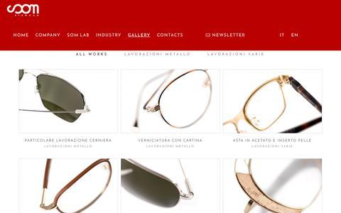 Screenshot of Products Page someyewear.com - Prodotti - Someyewear - captured July 10, 2017