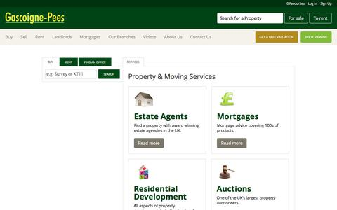 Screenshot of Services Page gpees.co.uk - View our range of services available from home insurance to mortgages plus much more - captured Oct. 26, 2016