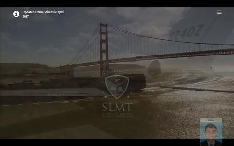 Screenshot of Home Page slmt.in - SLMT-Logistics Management Courses | Supply Chain Management Courses | Logistics and Supply Chain Management Courses | Logistics Institute in Kerala | Logistics Courses in Kerala | Diploma Courses in Logistics | Shipping Courses in Kerala |Shipping Ma - captured May 16, 2017
