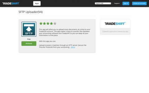 Tradeshift - SFTP Uploader(V4)