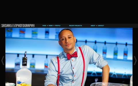 Screenshot of Team Page sashagitin.com - Lifestyle Photography Chef and Bartender Portraits - captured Oct. 3, 2014
