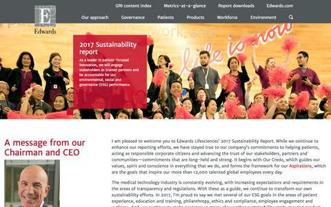 Edwards – Sustainability