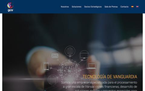 Screenshot of Home Page Privacy Page gcs-international.com - GCS International - captured Sept. 25, 2018