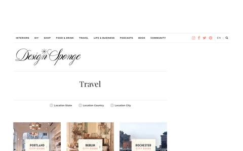Travel – Design*Sponge