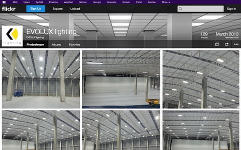 Screenshot of Flickr Page flickr.com - Flickr: EVOLUX lighting's Photostream - captured Oct. 22, 2014
