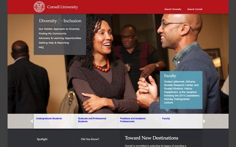 Diversity & Inclusion | Cornell University