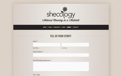 Screenshot of Testimonials Page shecology.com - Testimonials — shecology - captured Oct. 19, 2018