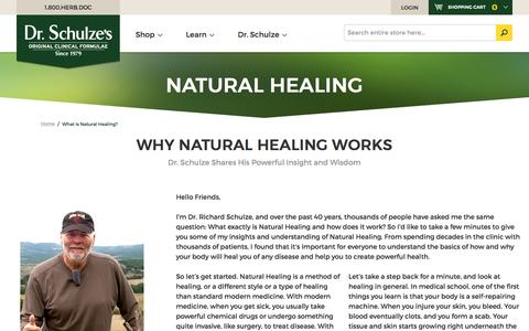 What Is Natural Healing?