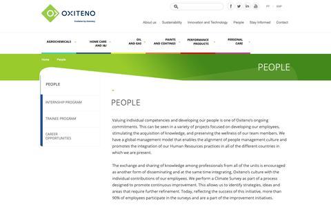 Screenshot of Team Page oxiteno.com - Best companies to work for   Oxiteno - captured Nov. 15, 2018