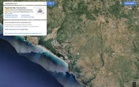 Screenshot of Maps & Directions Page google.es - Google Maps - captured Nov. 5, 2014