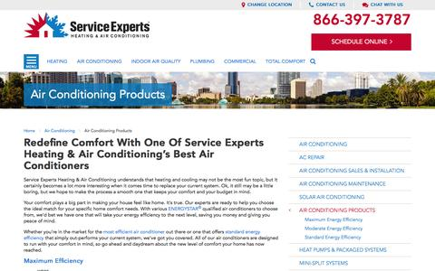 Air Conditioners in your city | Service Experts