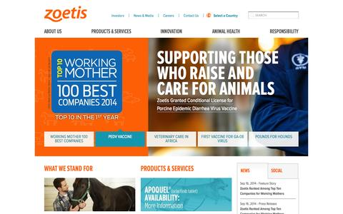 Zoetis, the largest global animal health company