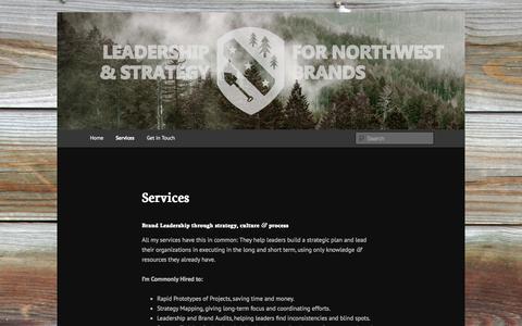Screenshot of Services Page chrisstadler.com - Services - chrisstadler.comchrisstadler.com - captured Oct. 27, 2014