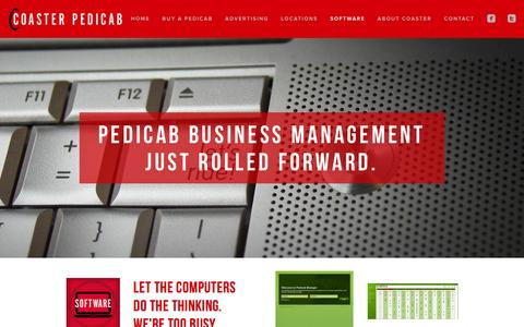 Screenshot of Team Page coasterpedicab.com - SOFTWARE Ń Coaster Pedicab - captured Dec. 10, 2015