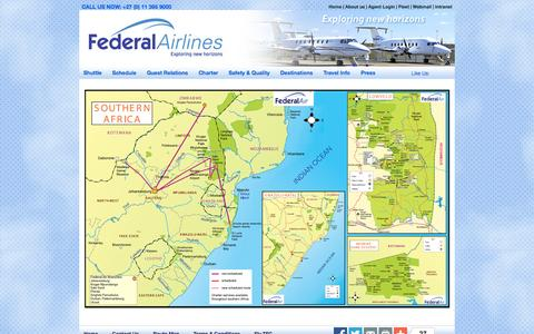 Screenshot of Maps & Directions Page fedair.com - Map of Africa | Maps - captured Oct. 5, 2014