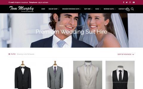 Mens Wedding Suit Hire |Suit Hire Cork