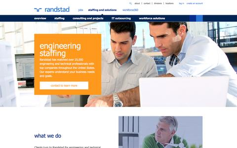 Engineering Staffing & Recruiting Solutions | Randstad USA