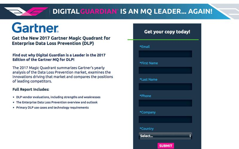 Gartner 2017 DLP MQ Report