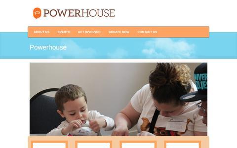 Screenshot of Home Page powerhousenyc.org - Powerhouse NYC Č Powerhouse NYC - captured Dec. 10, 2015