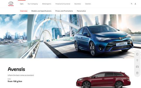 Toyota Avensis Overview | Elegant Sedan | Toyota Europe