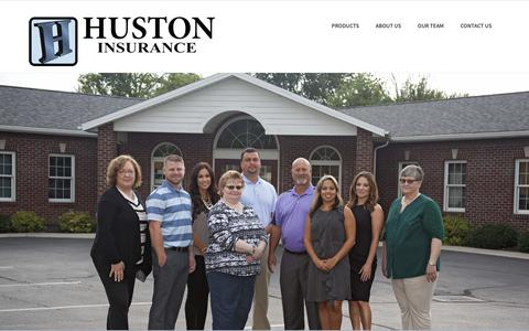 Screenshot of Team Page hustoninsurance.com - Our Team - Huston Insurance - captured Sept. 30, 2018