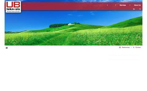 Screenshot of Services Page ubteknosis.com - UB Teknosis - captured July 25, 2018