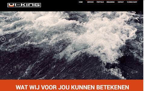 Screenshot of Home Page vi-king.nl - VI-KING - captured Sept. 30, 2014