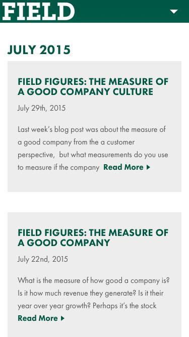 July 2015 - Field Fastener