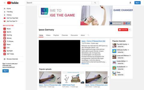 Ipsos Germany  - YouTube