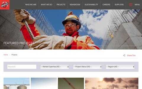 See Our Projects in Engineering & Construction - Bechtel