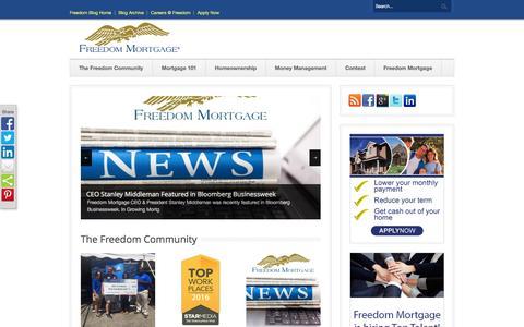 Freedom Mortgage Blog  Home - Freedom Mortgage Blog