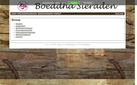Screenshot of Site Map Page be-zen.nl - Sitemap | BE ZEN - captured Oct. 5, 2014