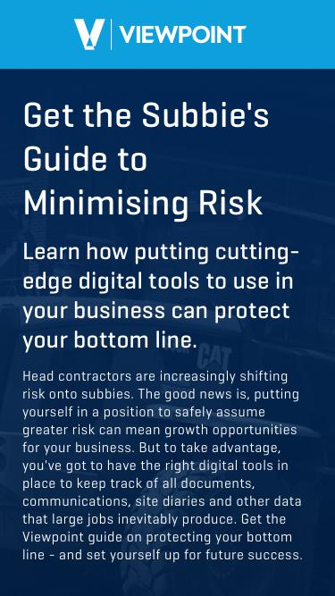 Subbie's Guide to Minimising Risk