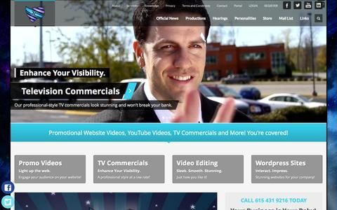 Screenshot of Services Page jointcustodyprod.com - Hendersonville Video Production Studio Joint Custody Productions LLC - captured Nov. 3, 2014