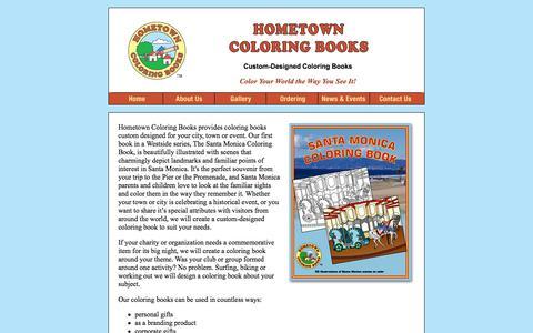 Hometown Coloring Books