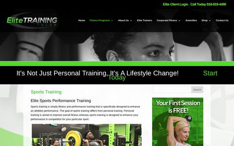 Elite Training Tulsa | Sports Training | Elite Training