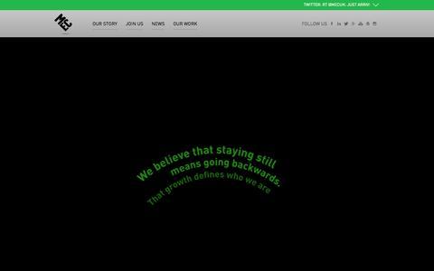 Screenshot of Home Page mecglobal.com - Home » MEC | Media Agency | Media Planning | Comms Planning - captured Sept. 6, 2015
