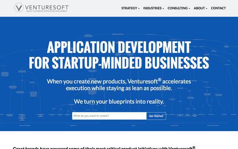 Product Strategy, Custom Application Development, Software Engineering