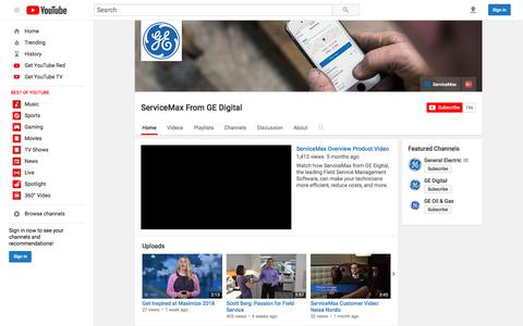 ServiceMax From GE Digital  - YouTube