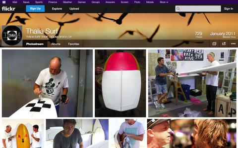 Screenshot of Flickr Page flickr.com - Flickr: THALIA SURF SHOP, LAGUNA BEACH, CA's Photostream - captured Oct. 26, 2014