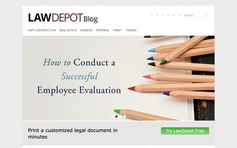 LawDepot Blog - Easy Legal Forms in Minutes