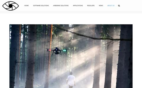 Screenshot of About Page skyeyeinnovations.se - About Us – Sky Eye Innovations - captured Sept. 20, 2018