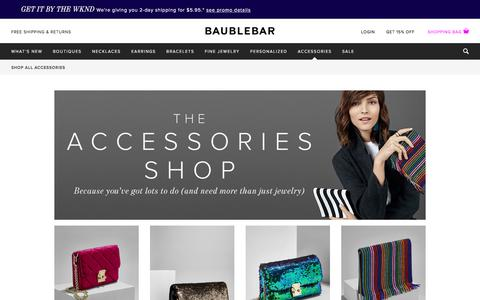Shop All Accessories - Accessories | BaubleBar