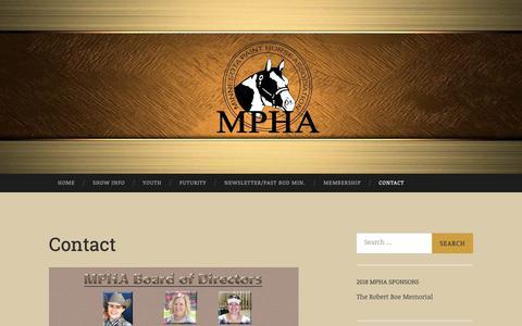 Screenshot of Contact Page wordpress.com - Contact | - captured Oct. 30, 2018