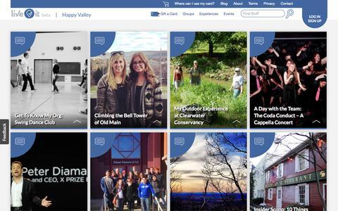 Screenshot of Blog liveitu.com - Blog | Penn State | Live It - captured Nov. 2, 2014